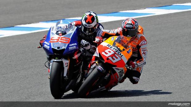 Pilotos comentam toque de Márquez e Lorenzo