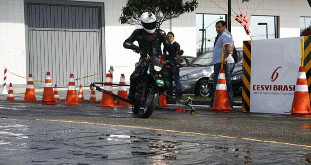 Apenas 17% das motos no Brasil possuem ABS