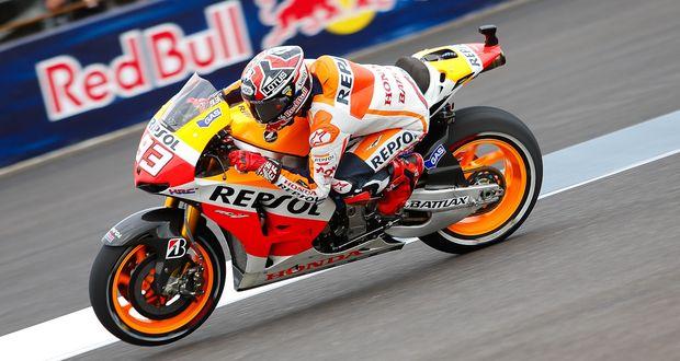 MotoGP: Marquez lidera 1-2 da Honda na sexta-feira