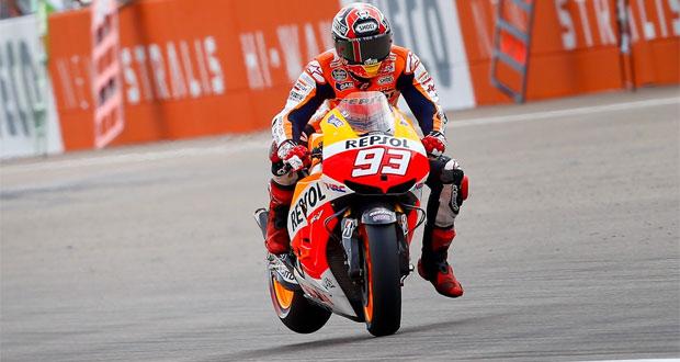 MotoGP: Márquez garante pole em Aragón
