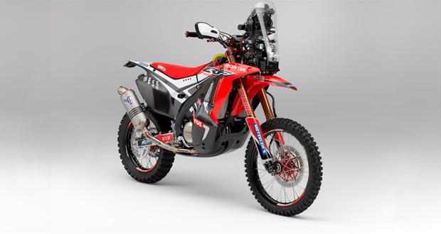 Honda apresenta nova CRF 450 Rally e equipe que disputará Dakar 2014