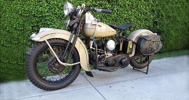Harley-Davidson de Steve McQueen vai a leilão
