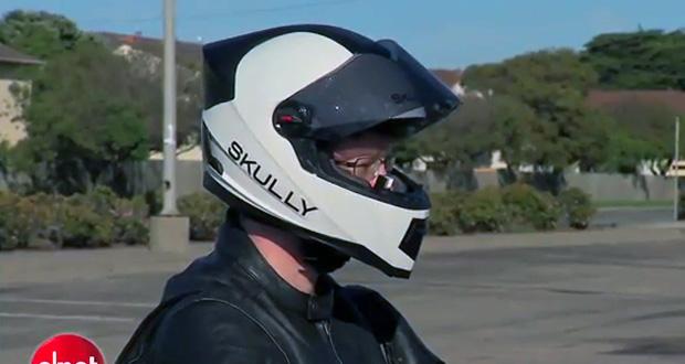 Empresa propõe espécie de Google Glass para capacetes