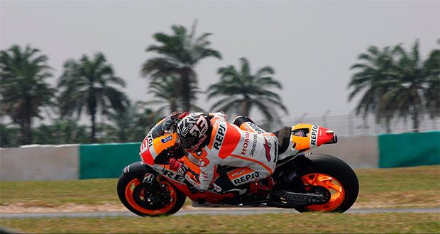 MotoGP: Márquez domina Sepang no segundo dia