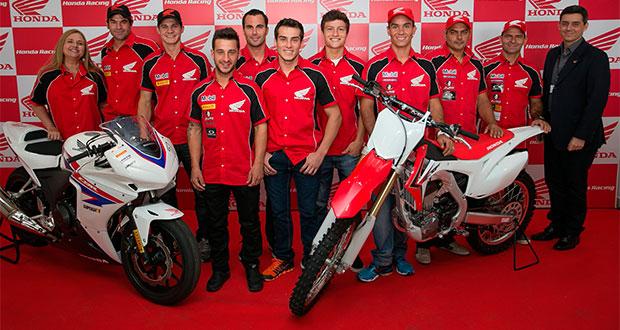 Honda Racing apresenta equipes e pilotos para 2014