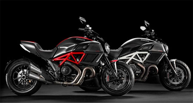 Ducati apresenta Diavel reestilizada