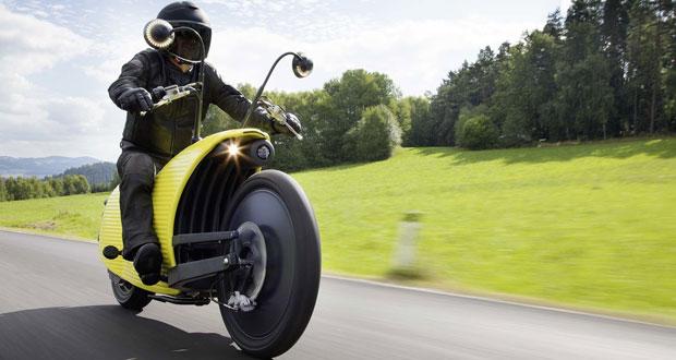 Johammer mostra motocicleta elétrica bem diferente
