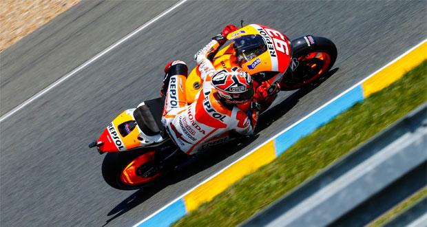 MotoGP: Márquez domina treino livre na França