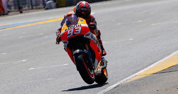 MotoGP: Márquez é pole em Le Mans
