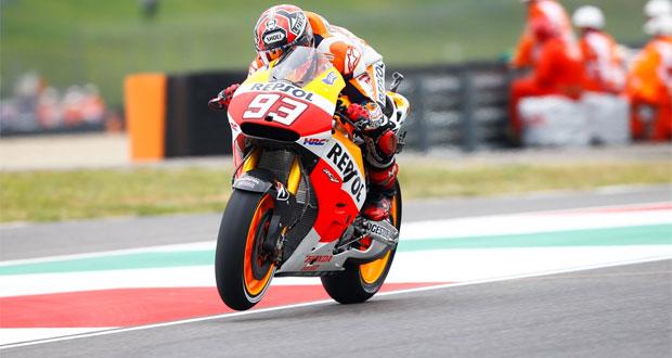 MotoGP: Márquez lidera treinos em Mugello