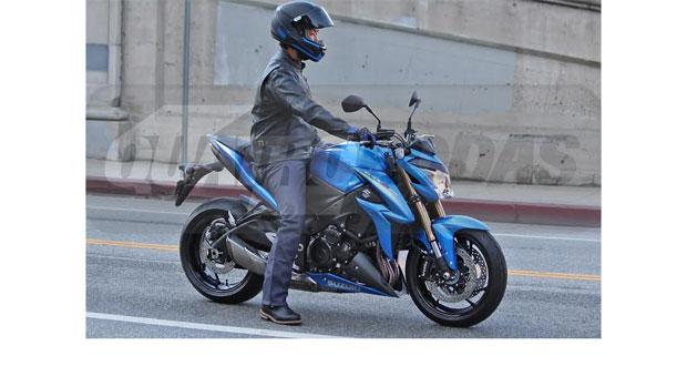 Suzuki GSX-S1000 é flagrada nos EUA