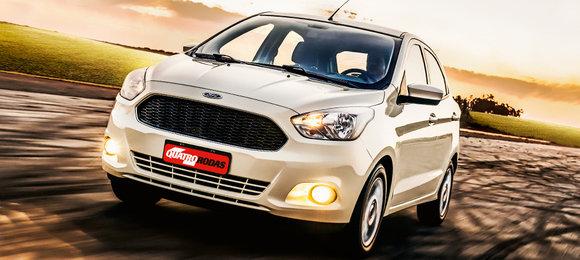 Novo Ford Ka Quatro Rodas