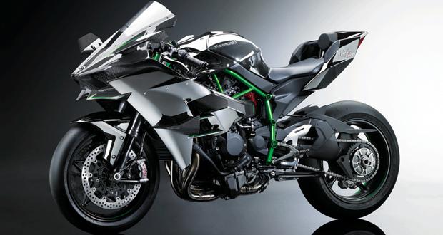 Kawasaki revela nova conceitual Ninja H2R