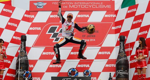 Ultrapassagem no final dá o bicampeonato para Marc Márquez