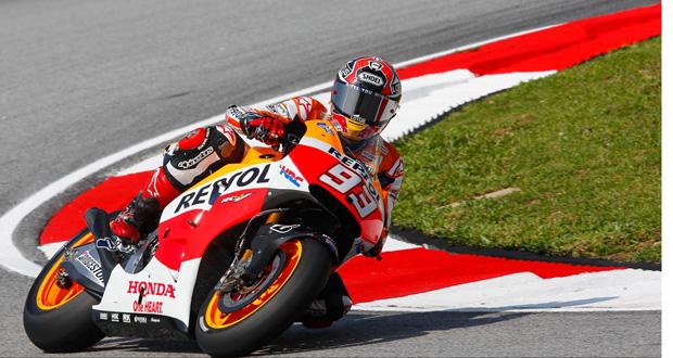 MotoGP: Márquez crava a pole na Malásia