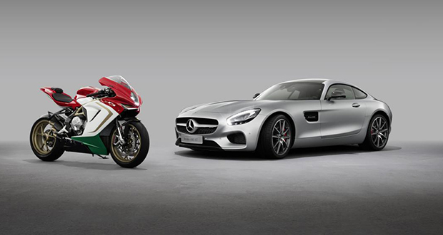 Mercedes-AMG compra 25% da MV Agusta