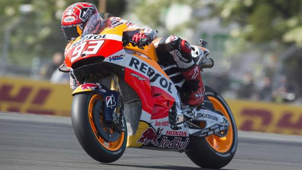 Moto GP: Marc Marquez larga na frente em Le Mans