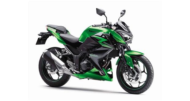 Kawasaki Z300 chega por R$ 17.990