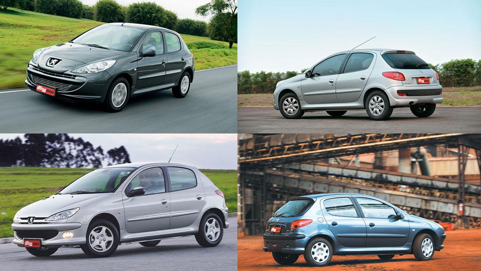 Reestilizações: Peugeot 206