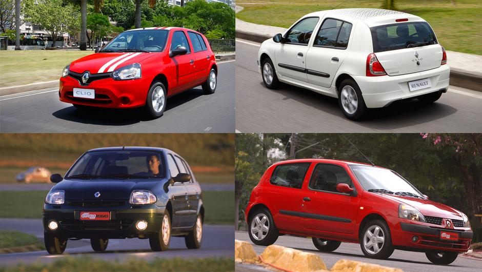 Reestilizações: Renault Clio