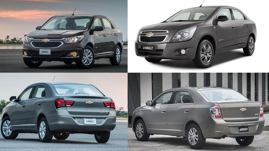 Reestilizações: Chevrolet Cobalt
