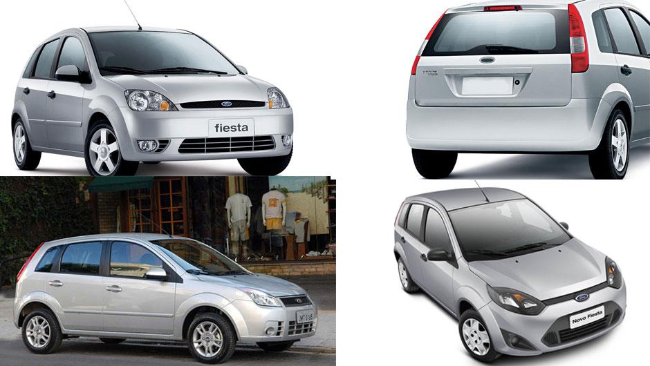Reestilizações: Ford Fiesta