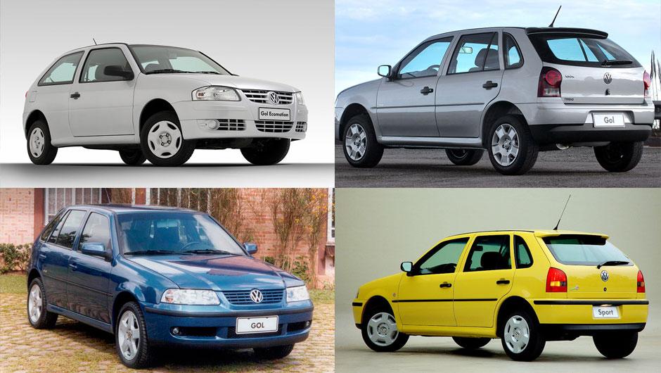 Reestilizações: VW Gol