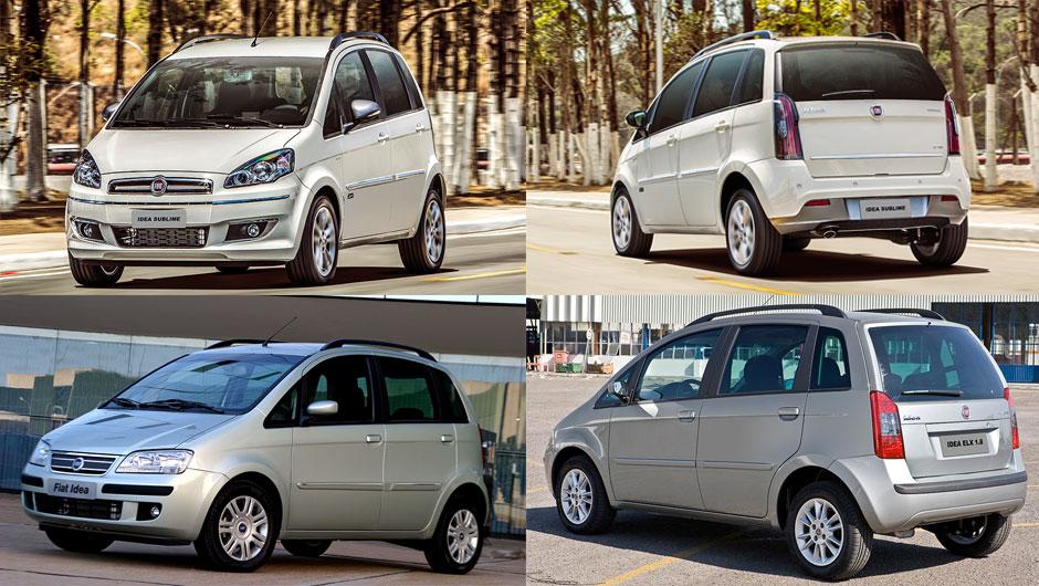 Reestilizações: Fiat Idea