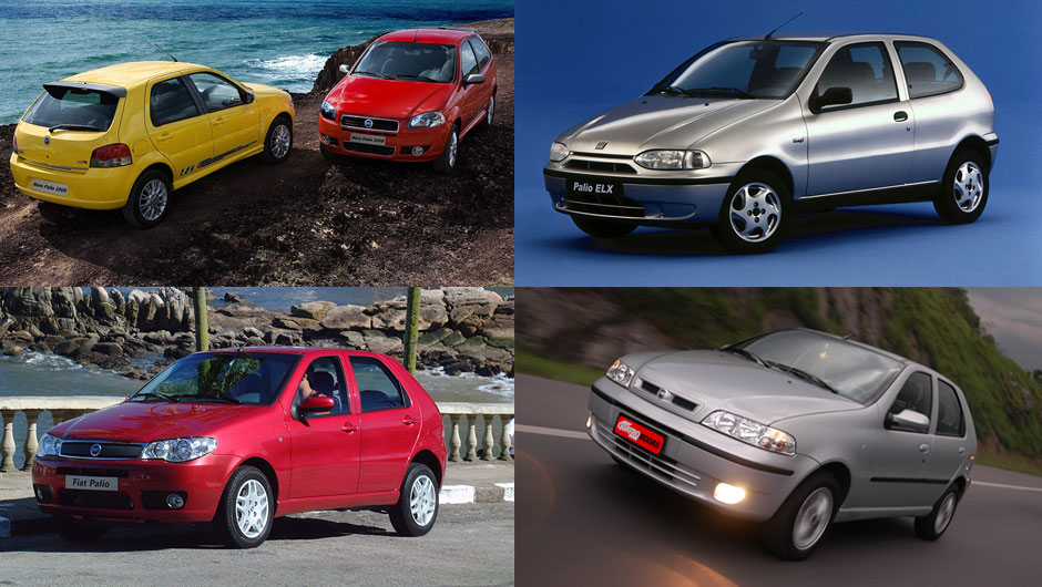 Reestilizações: Fiat Palio