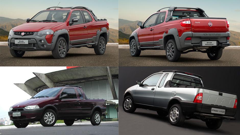 Reestilizações: Fiat Strada