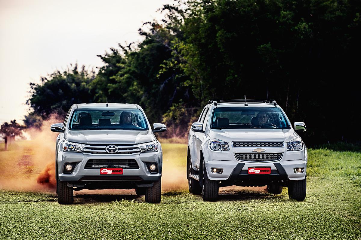 Comparativo: Toyota Hiux x Chevrolet S10