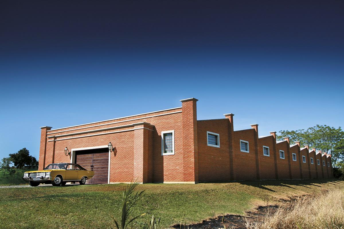 O prédio do Museu do Dodge, inaugurado em 2010, já está lotado