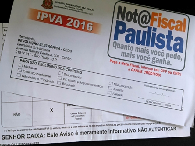 Quem tem IPVA vencido até 2016 pode aderir ao programa