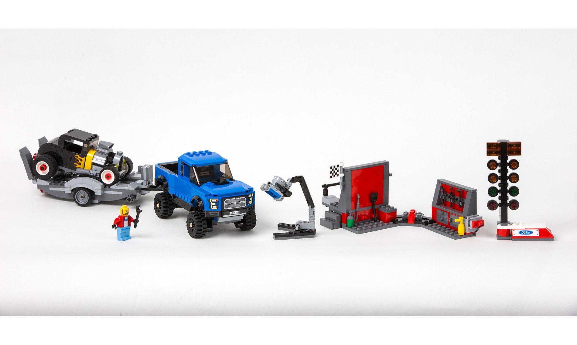 Ford Raptor - Lego