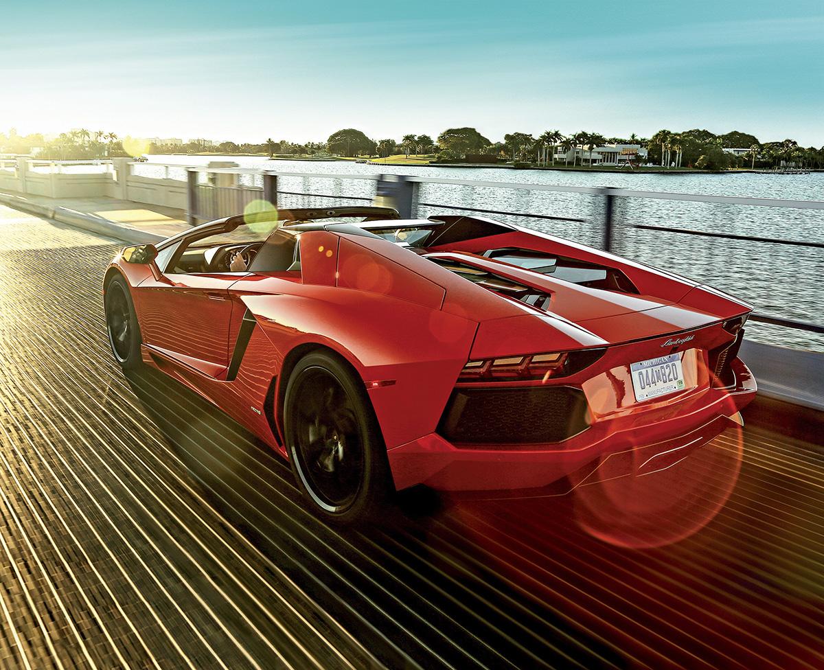 Lamborghini Aventador LP 700-4 Spyder