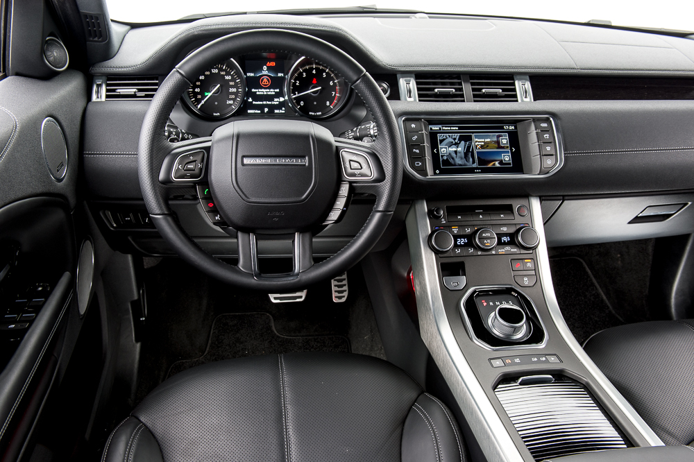 Range Rover Evoque 2016 (interior)