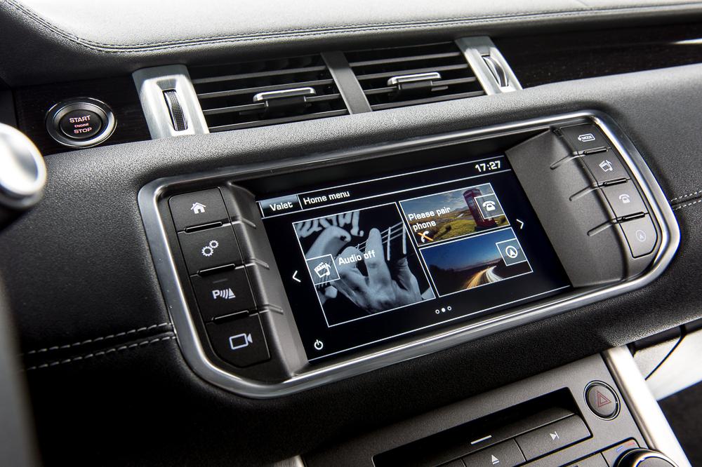 Range Rover Evoque 2016 (central multimídia)