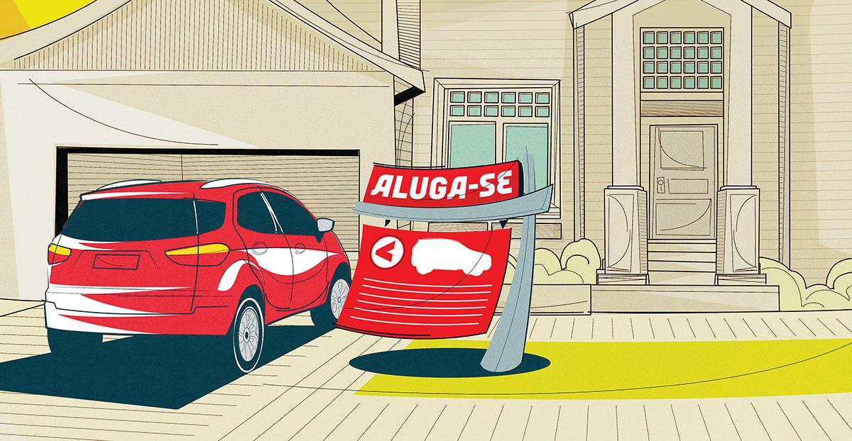 Aluga-se seu carro