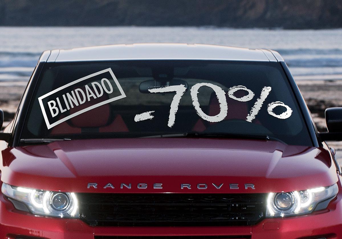 Range Rover Evoque blindado