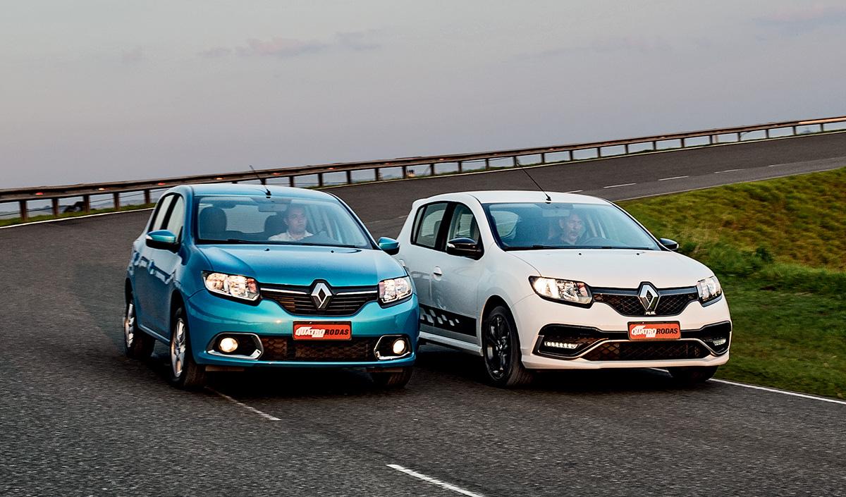 Renault Sandero Dynamique e R.S.