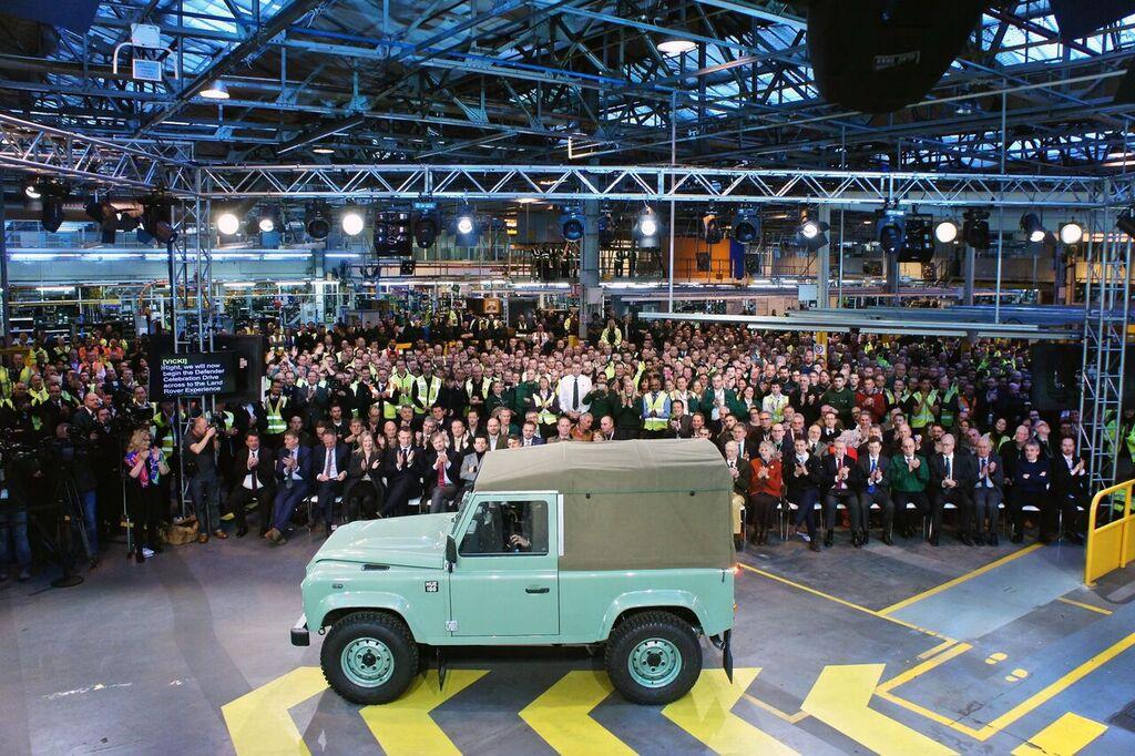Último Land Rover Defender produzido