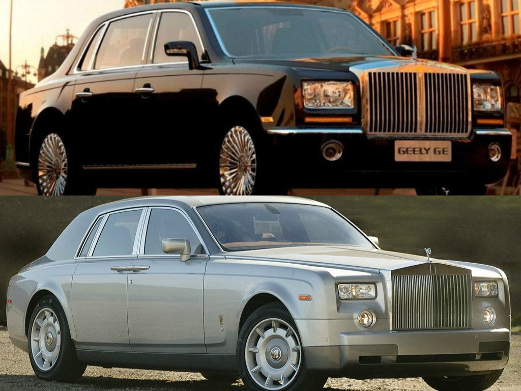 Geely-Rolls-Royce