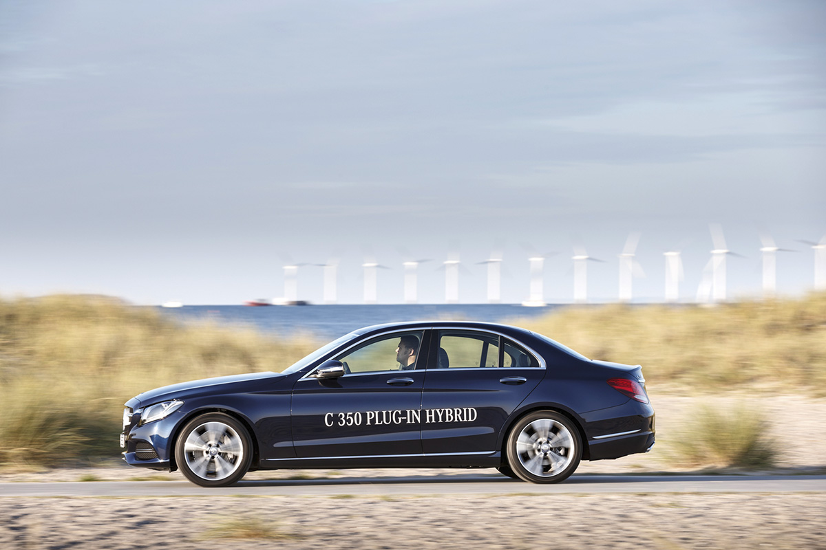 Mercedes-benz C350E Hybrid