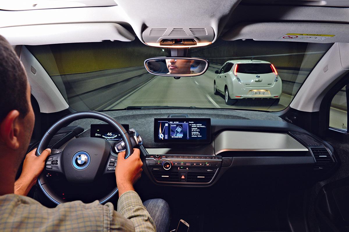 BMW i3 e Nissan Leaf