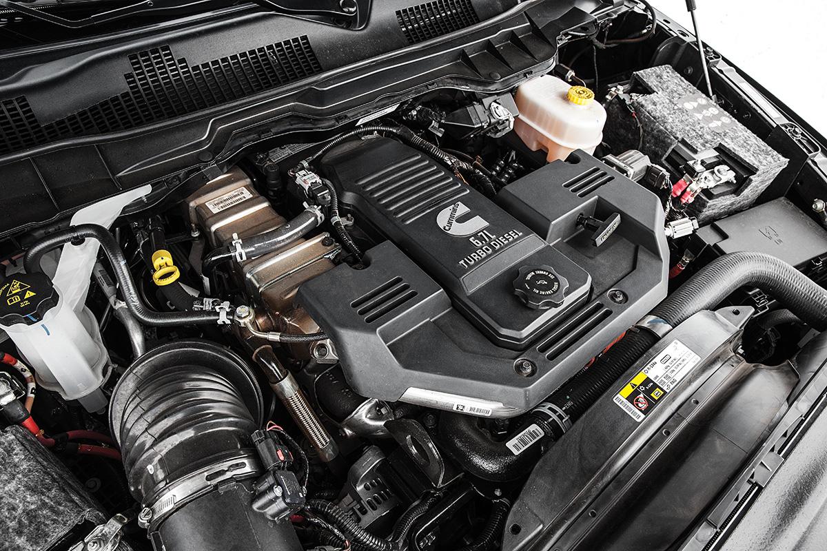 Turbodiesel 6.7: consumo de 5,3 km/l na cidade