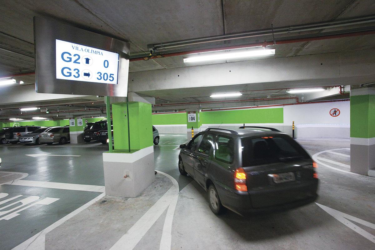Estacionamento do Shopping Vila Olímpia