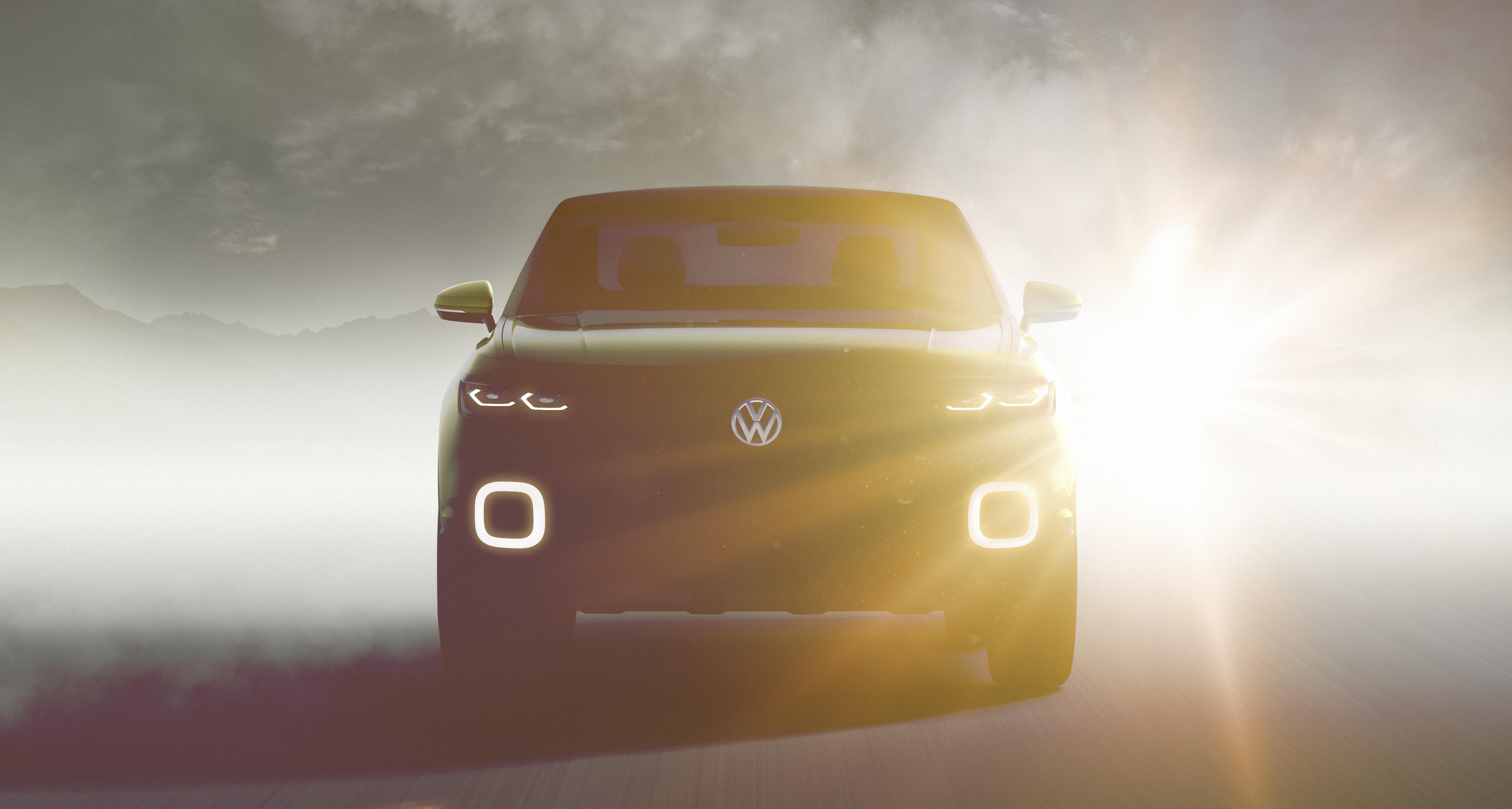 VW T-Cross (teaser)