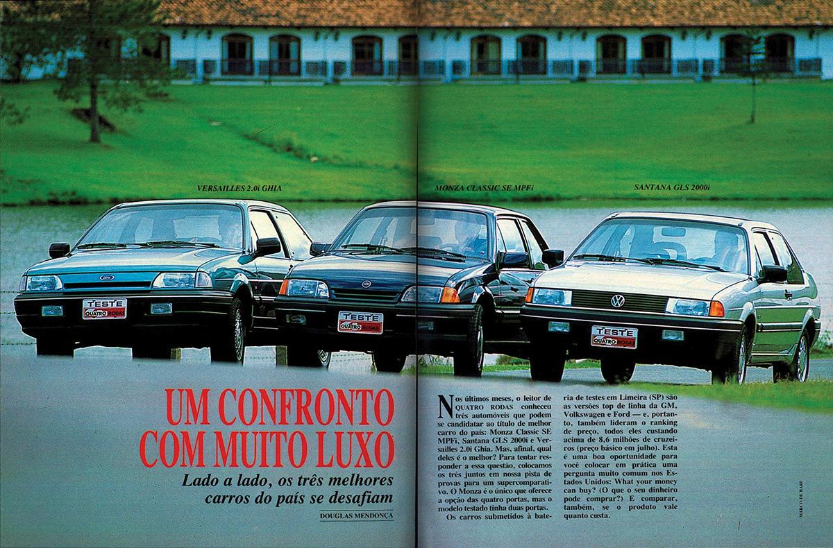 QUATRO RODAS, agosto de 1991
