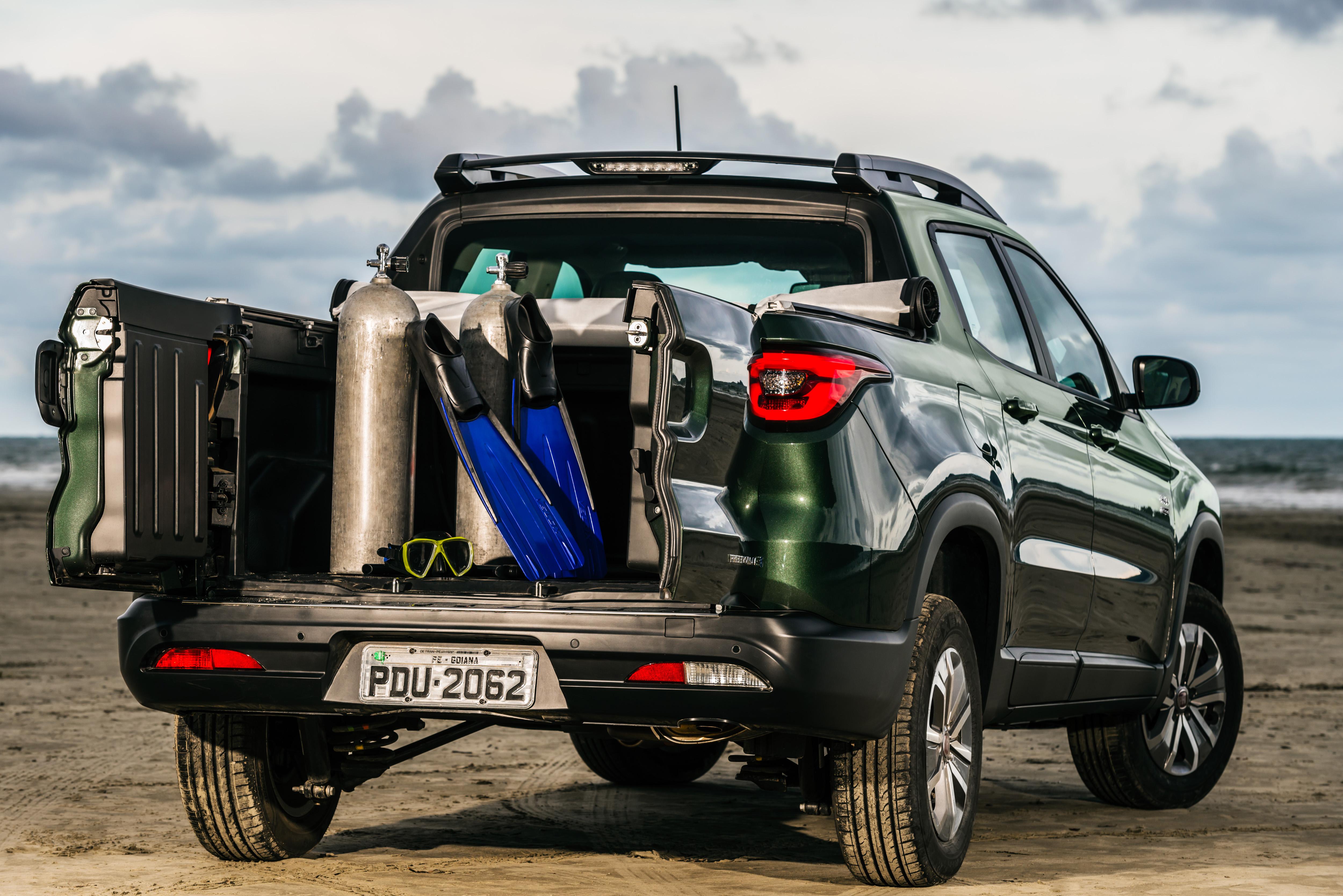 Fiat Toro - caçamba
