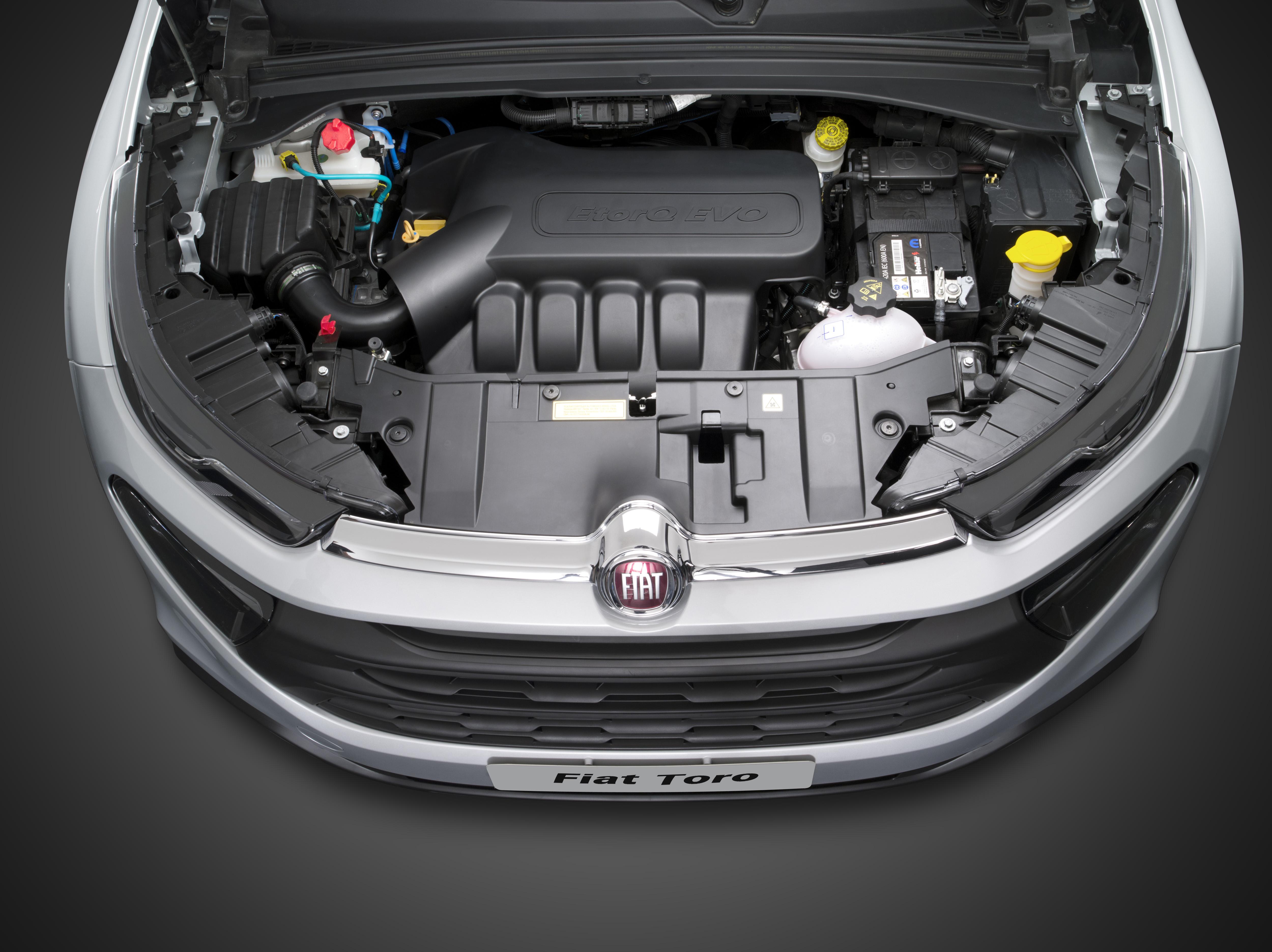 Fiat Toro Flex - motor